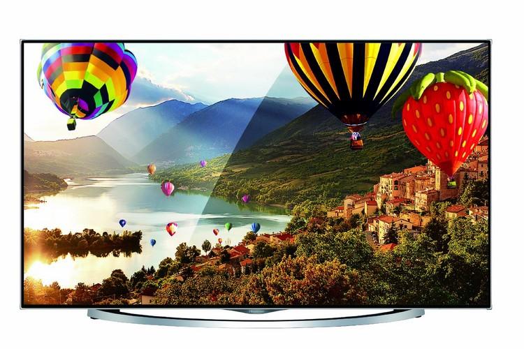 Hisense LTDN50XT880 126 cm (50 Zoll) Fernseher (Ultra HD, Triple Tuner, 3D, Smart TV)
