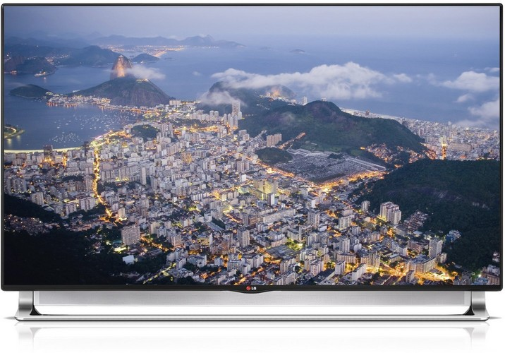 LG 55LA9709 139 cm (55 Zoll) Fernseher (Ultra HD, Triple Tuner, 3D, Smart TV)