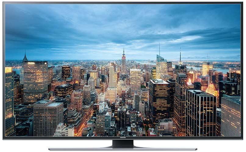 Samsung JU6550 163 cm (65 Zoll) Curved Fernseher (Ultra HD, Triple Tuner, Smart TV)