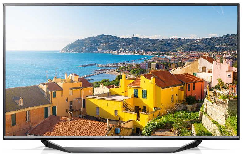 LG 49UF7709 123 cm (49 Zoll) Fernseher (Ultra HD, Triple Tuner, Smart TV)