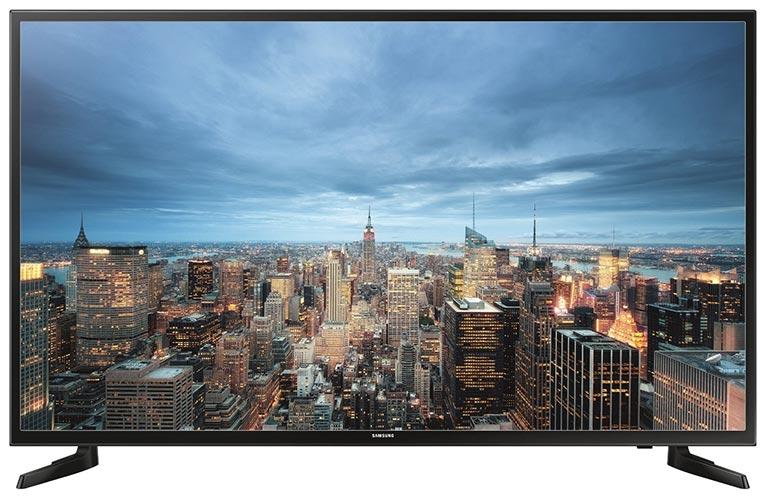 Samsung JU6050 138 cm (55 Zoll) Fernseher (Ultra HD, Triple Tuner, Smart TV)