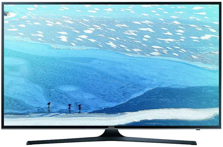 Samsung UE55KU6079UXZG 138 cm (55 Zoll) Fernseher (Ultra HD, DVB-T2, DVB-C, DVB-S, Smart TV, WLAN) [Energieklasse A]